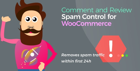 Comment and Review Spam Control for WooCommerce - CodeCanyon Item for Sale