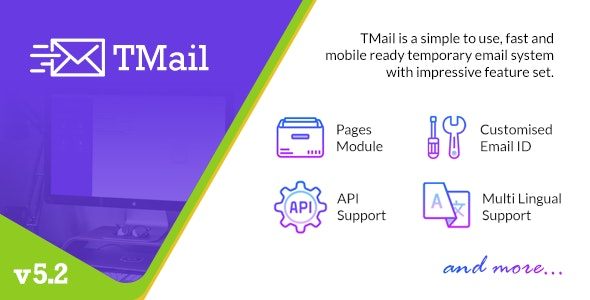 TMail - Multi Domain Temporary Email System by harshitpeer