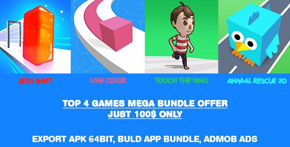 Top 4 Games Mega Bundle Offer
