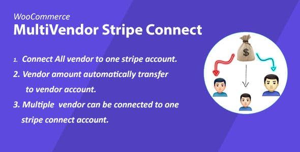 WooCommerce MultiVendor Marketplace Stripe Connect