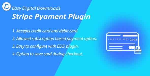 EDD Stripe Payment Gateway