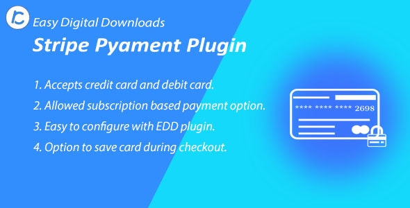 EDD Stripe Payment Gateway - CodeCanyon Item for Sale