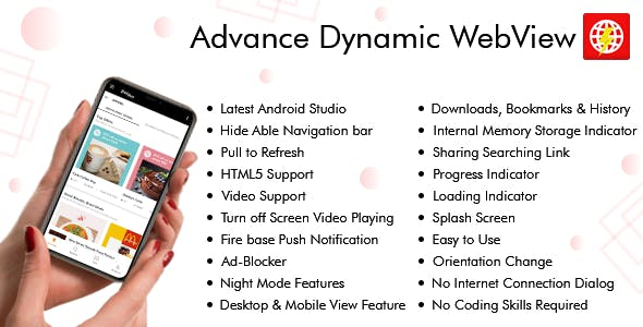 Convert Dynamic Website into Android App & Web Dashboard