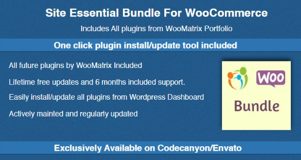 WooCommerce Shop Essential Bundle - CodeCanyon Item for Sale
