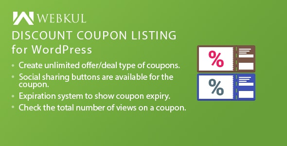 Discount Coupon Listing Plugin for WordPress - CodeCanyon Item for Sale