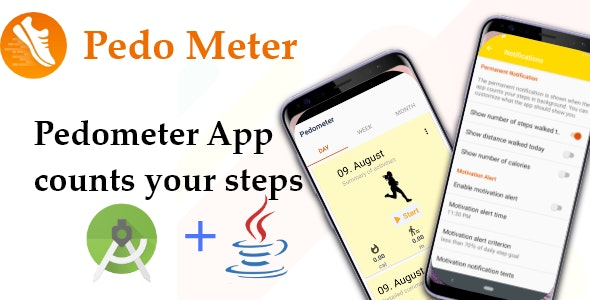 PedoMeter - Android Source Code - CodeCanyon Item for Sale