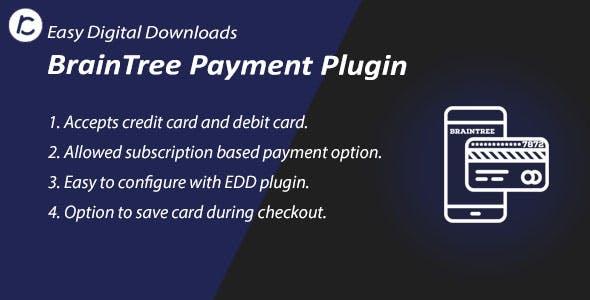 EDD Braintree Payment Gateway