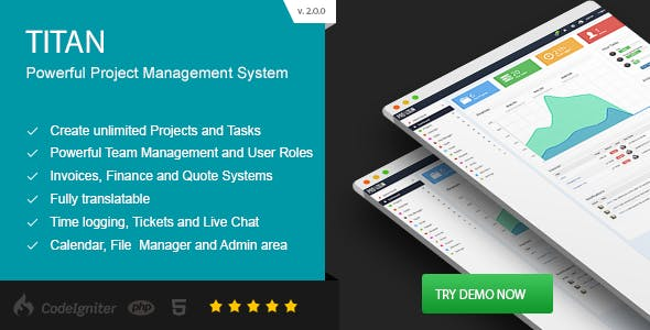 TITAN - Project Management System