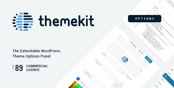 Themekit Options - WordPress Theme Options Panel