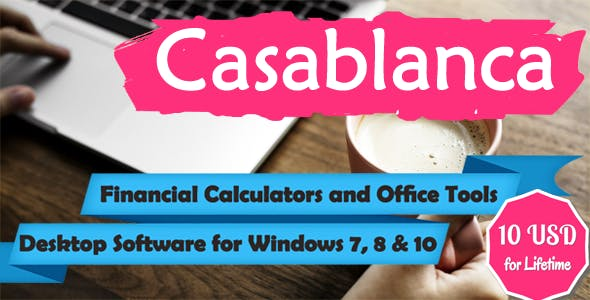 Casablanca - Financial Calculators and Office Tools