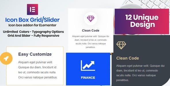 Icon Box - Elementor Addon Plugin