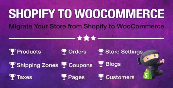 Import Shopify to WooCommerce - Migrate Your Store from