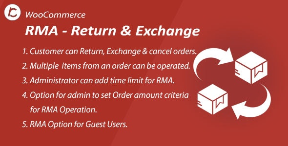 WordPress WooCommerce Return And ExChange RMA Plugin