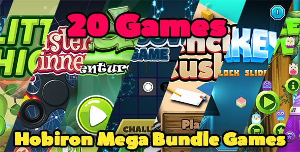 Hobiron Mega Game Bundle ( 20 BBDOC Games in 1 )