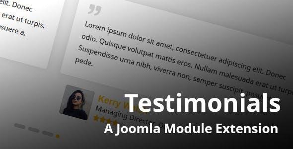 Testimonials Joomla Module