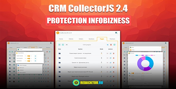 Crm Collectorjs 2.4 Protection Infobusiness - CodeCanyon Item for Sale