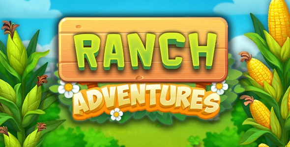 Ranch adventures - match3, html5 game - CodeCanyon Item for Sale