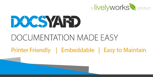 Docsyard - Easy Documentation Tool - CodeCanyon Item for Sale