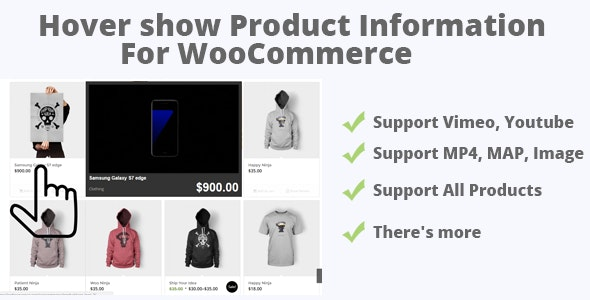 Play The Video (Map,image) On Mouseover For WooCommerce - CodeCanyon Item for Sale