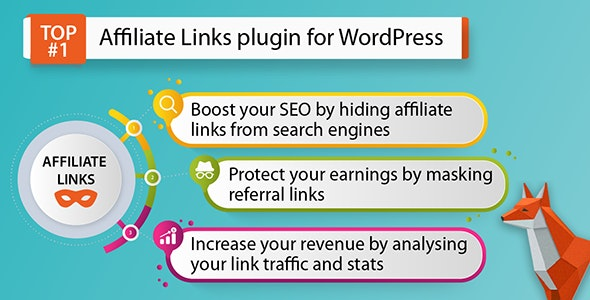Affiliate Links — WordPress Plugin for Link Shortening and Masking - CodeCanyon Item for Sale