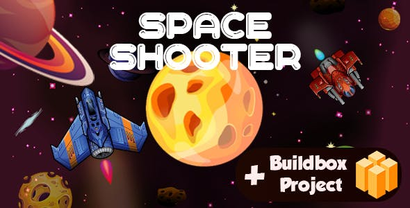 Space Shooter : android game with Project BUILDBOX-easy to reskin