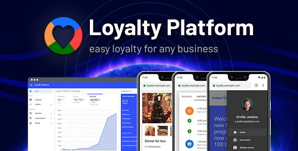 Loyalty Platform - CodeCanyon Item for Sale