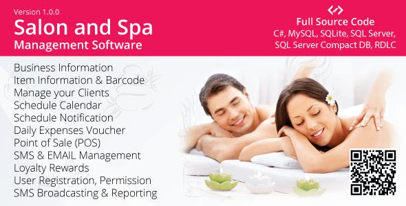 Spa & Salon Management Software  (Appointment, Billing, SMS)