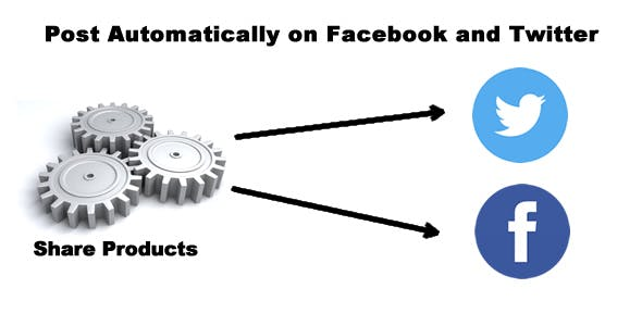 PrestaShop Auto Post Products to Facebook and Twitter