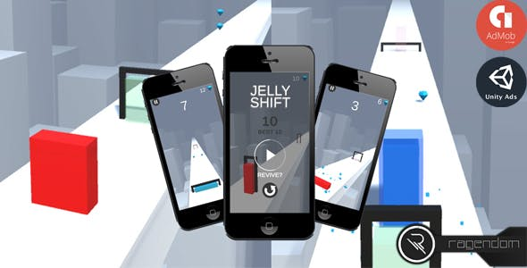Jelly Shift - Complete Unity Game + Admob