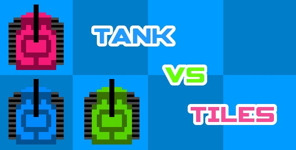 Tank vs Tiles - HTML5 Mobile Game (Construct 3 | Construct 2 | Capx)