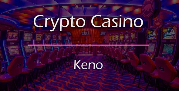 Keno Game Add-on for Crypto Casino - CodeCanyon Item for Sale