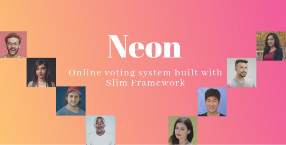 Neon - Online Voting System built with Slim Framework - CodeCanyon Item for Sale