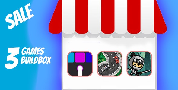 MEGA BUNDLE 3 GAMES BUILDBOX PROJECT WITH ADMOB - CodeCanyon Item for Sale