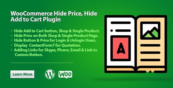 WooCommerce Hide Price, Hide Add to Cart Plugin