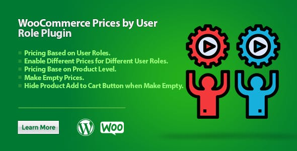 WooCommerce Prices by User Role Plugin