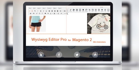 Tinymce 4 - Wysiwyg Editor Pro For Magento 2