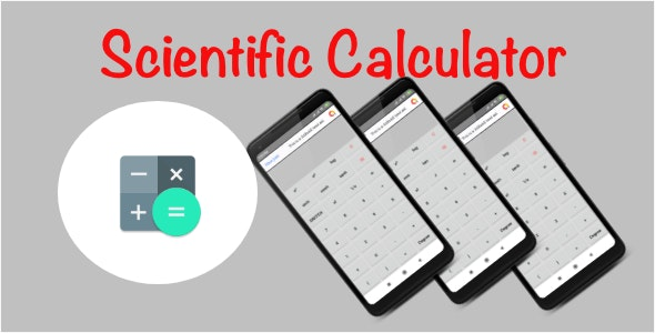 Scientific Calculator for Android with Admob by sr-tech