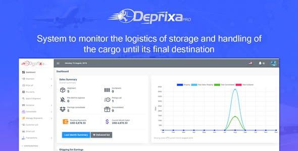 Courier Deprixa Pro -Logistic System v3.2.7.1