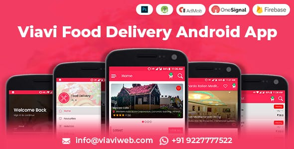 Viavi Food Delivery Android App