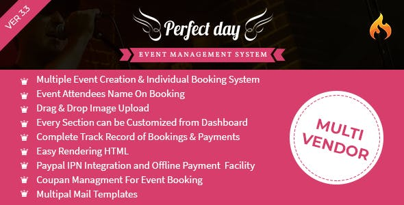 Event Management System - Perfect Day