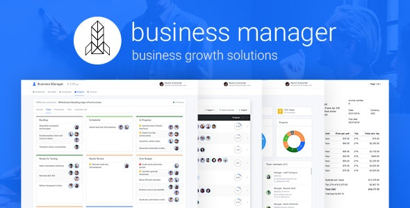 Business Manager - Business Growth Solutions - CodeCanyon Item for Sale