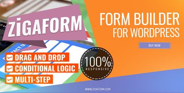 Zigaform - WordPress Form Builder