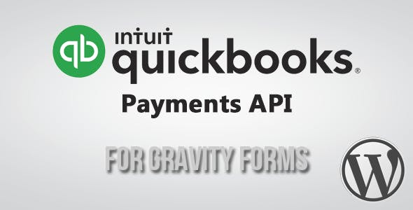 QuickBooks(Intuit) Payment Gateway for Gravity Forms