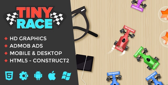 Tiny Race - Toy Car Racing - CodeCanyon Item for Sale