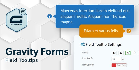 Gravity Forms Field Tooltips