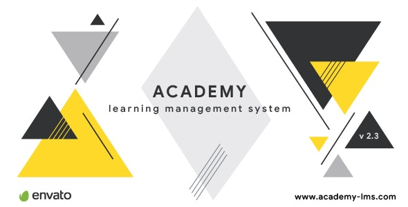 Academy Learning Management System by Creativeitem | CodeCanyon