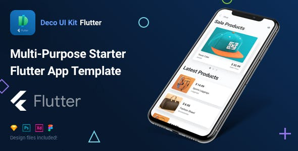 Deco UI Kit - Multi-purpose Starter Flutter App Template