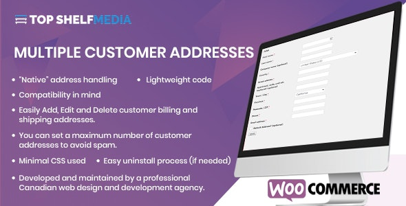 WooCommerce Multiple Customer Addresses Manager - CodeCanyon Item for Sale