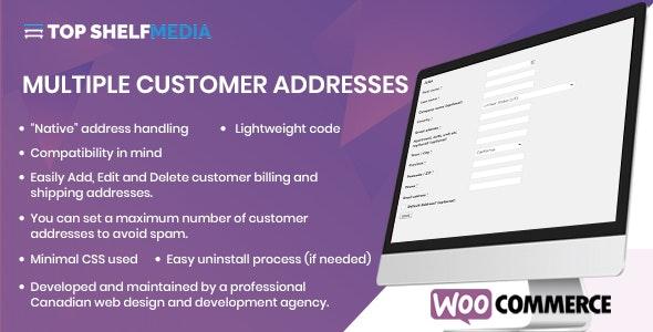 WooCommerce Multiple Customer Addresses Manager - CodeCanyon Item for Sale
