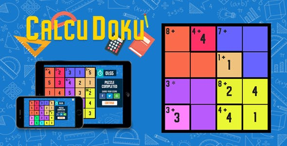 CalcuDoku - HTML5 Game